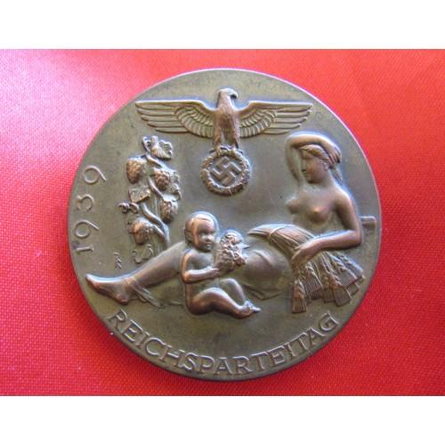 1939 Reichsparteitag Tinnie # 6522