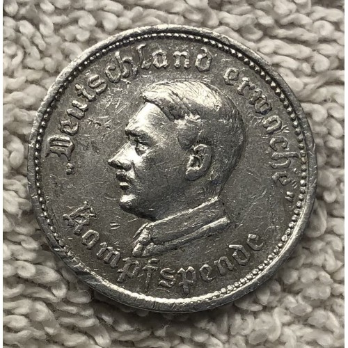Hitler Token # 6529