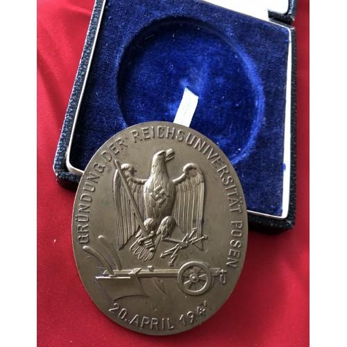 Posen Commemorative Medallion, cased