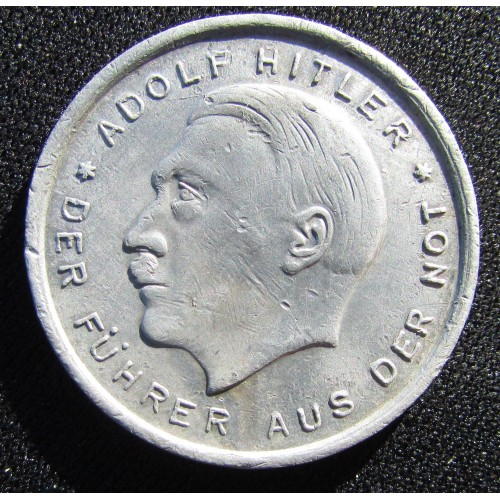 Hitler Düsseldorf Token  # 6531