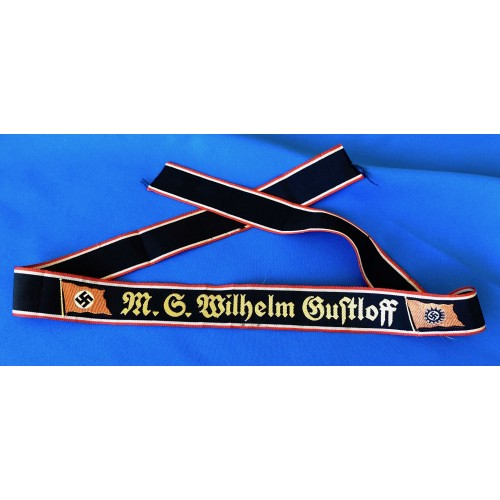 Wilhelm Gustloff Mützenbands # 6533