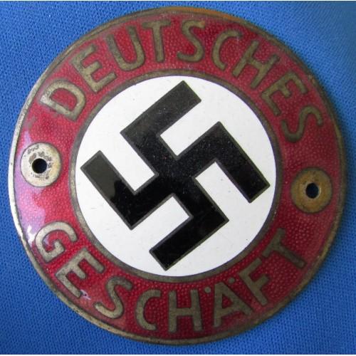 Deutsches Geschäft Sign # 6539