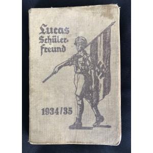 Lucas Schülerfreund 1934/35 Calendar Booklet # 6540