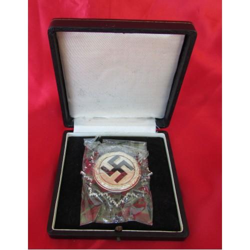 German Cross in Silver # 6550