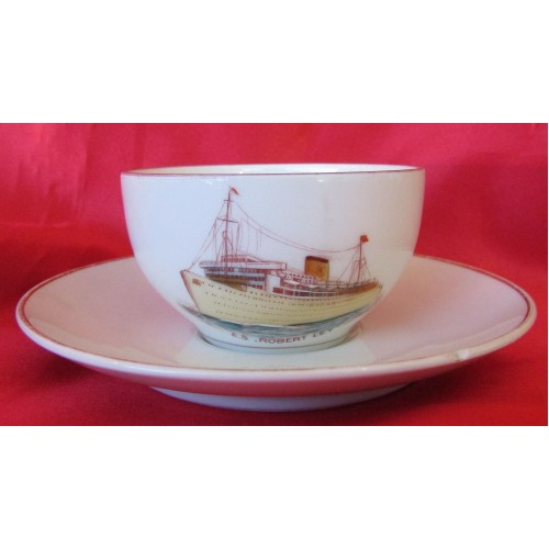 KDF E.S. Robert Ley Cup & Saucer  # 6567