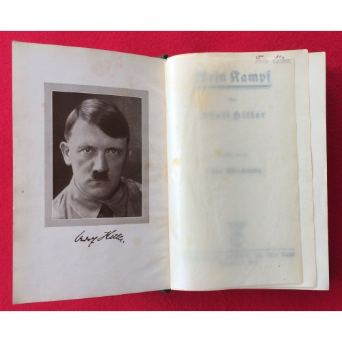 1935 Special Edition Mein Kampf # 5328
