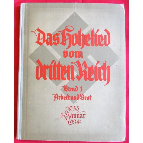 Das Hohelied vom Dritten Reich Band 1 Arbeit und Brot # 6608