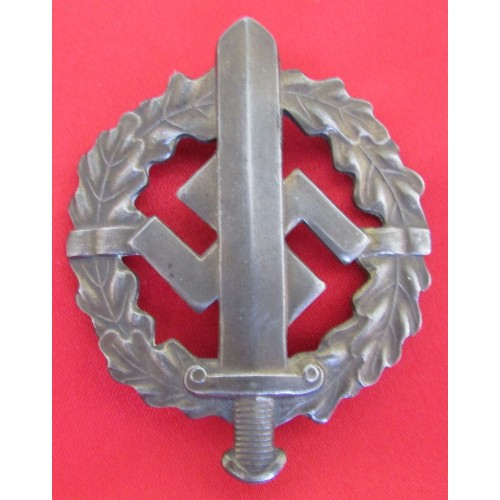 SA Sports Badge in Bronze # 6623