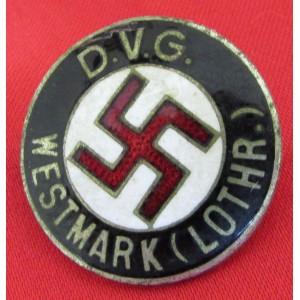 DVG Westmark (Lothr.) Badge # 6624