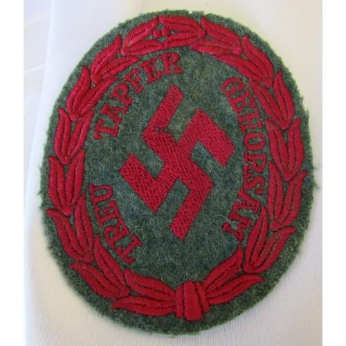 Schuma Sleeve Insignia # 6630