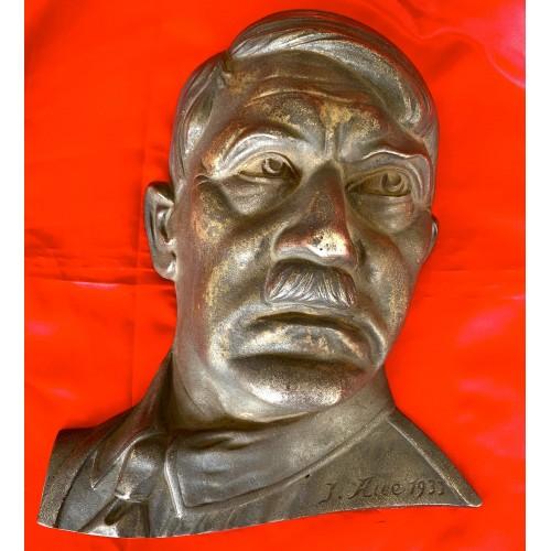 Adolf Hitler Wall Bust # 6640