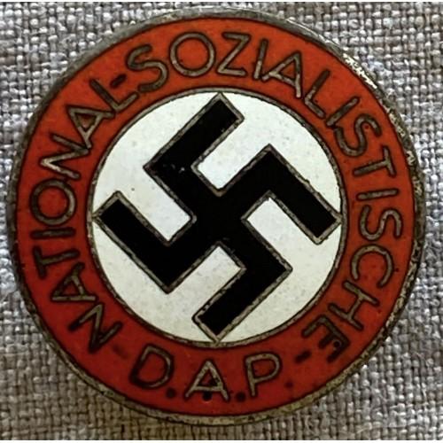 NSDAP Membership Badge # 6662