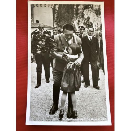 Besuch des Reichskanzlers in Neuschwanstein Postcard # 6694