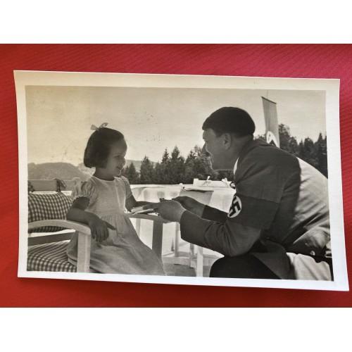 Adolf Hitler Postcard  # 6707