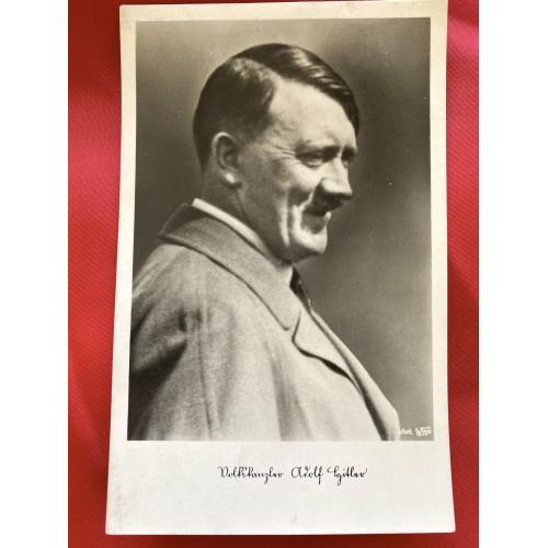 Reichskanzler Adolf Hitler Postcard # 6716
