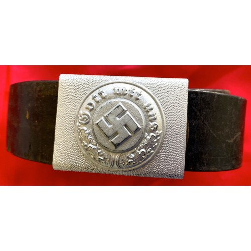 German Police Belt and Buckle # 6743