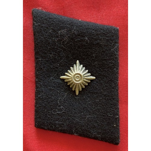 SS NCO Rank Collar Tab # 6750