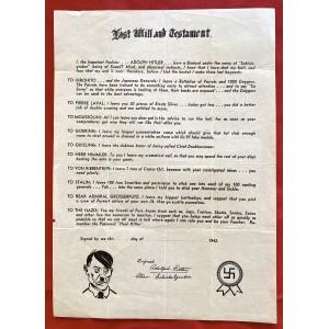 Allied Propaganda Leaflet # 6763