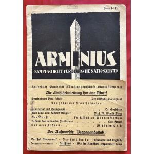 Arminius Kampfschrift für Deutsche Nationalisten # 6768