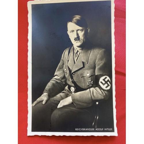 Reichskanzler Adolf Hitler Postcard # 6829
