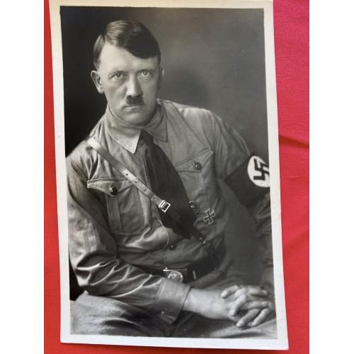 Adolf Hitler Hoffmann Postcard  # 6837