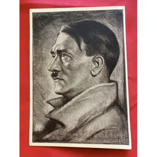 Reichskanzler Adolf Hitler Postcard # 6846