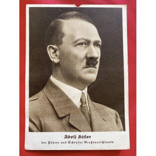 Adolf Hitler Postcard # 6847
