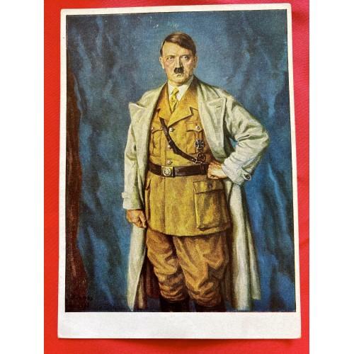 Reichskanzler Adolf Hitler Postcard # 6849