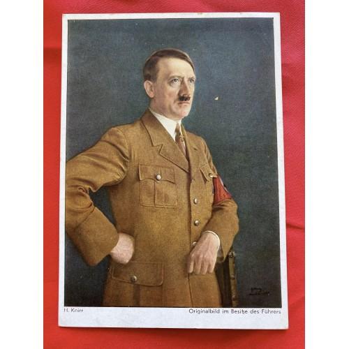 Originalbild im Besitze des Führers Postcard