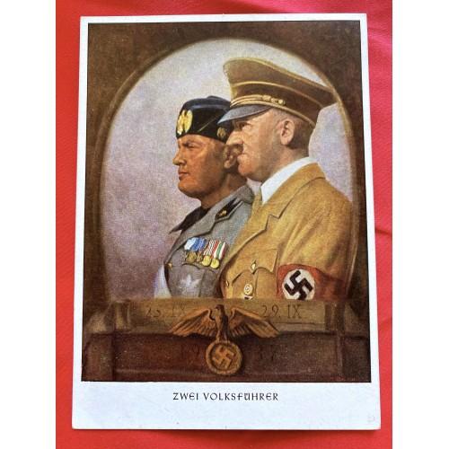 Zwei Volkführer Postcard # 6861