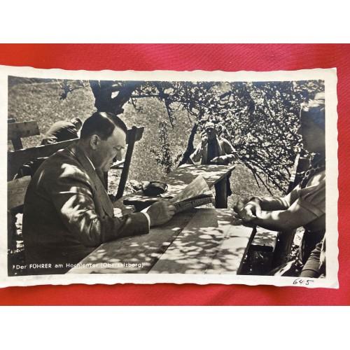 Der Führer am Hochlenzer (Obersalzberg) Postcard # 6876