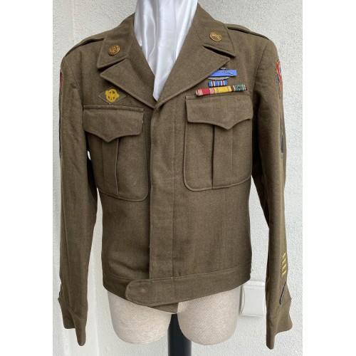U.S. Black Widow Division Ike Jacket