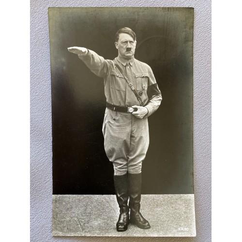 Adolf Hitler H.K. 80 Postcard # 6911