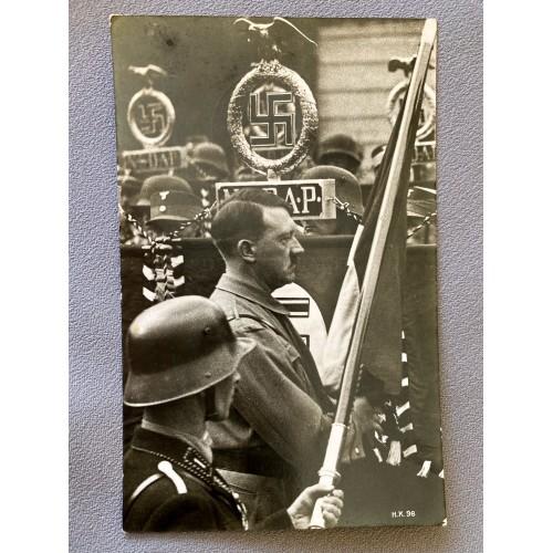 Adolf Hitler H.K. 98 Postcard # 6912