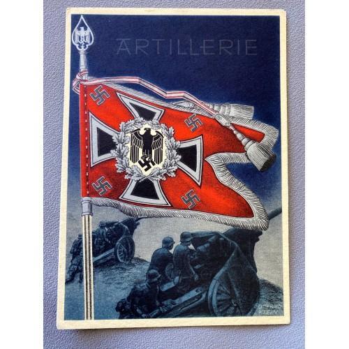 Die Siegreichen Fahnen und Standarten der Deutschen Wehrmacht Postcard # 6922