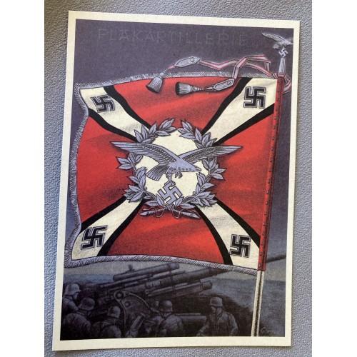 Die Siegreichen Fahnen und Standarten der Deutschen Wehrmacht Postcard # 6925