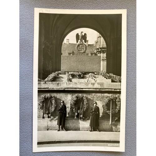 Mahnmal Postcard # 6971