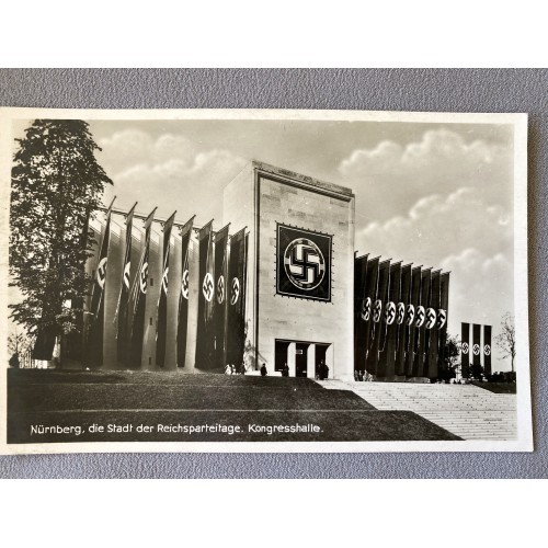 Nürnberg, die Stadt der Reichsparteitage Kongresshalle Postcard # 6977