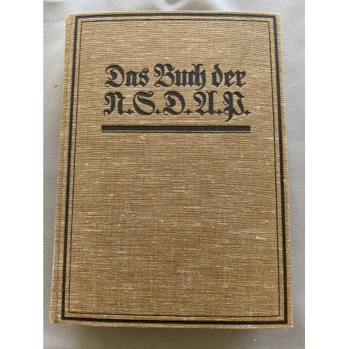 Das Buch der N.S.D.A.P. # 7036