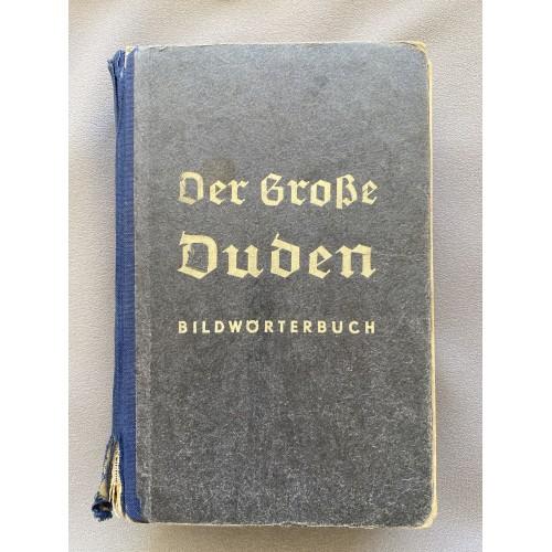 Der Grosse Duden Bildwörterbuch # 7078
