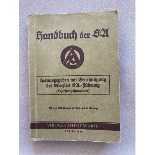 Handbuch der SA # 7088