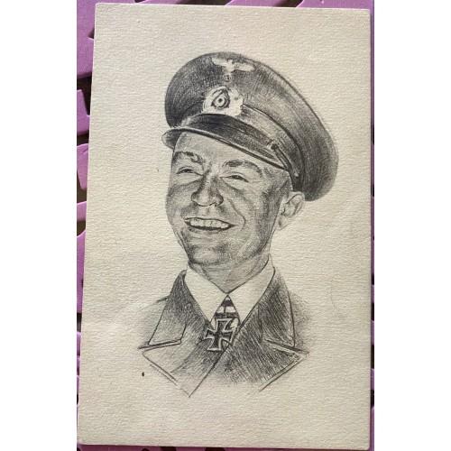 Kapitänleutnant Prien, der Held von Scapa Flow Postcard # 7103