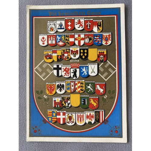 Die Deutschen Gaue Postcard # 7115