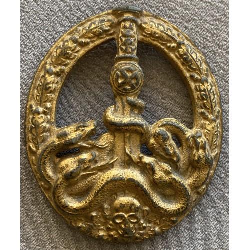 Anti-Partisan Badge in Gold # 7119