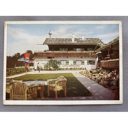 Haus Wachenfeld Landhaus Des Reichskanzlers in Berchtesgaden (Obersalzberg) Postcard # 7141