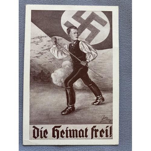Die Heimat Frei ! Postcard # 7142