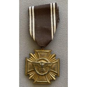 NSDAP 10 Year Long Service Medal # 7160
