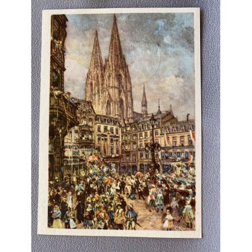 Ne Schöne Groß vum Kölsche Fastelovend ( Kölner Karneval) 1939 Postcard # 7190