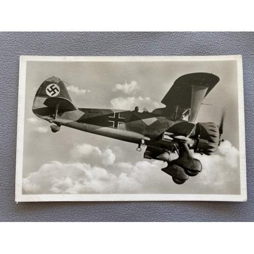 Luftwaffe Postcard # 7209