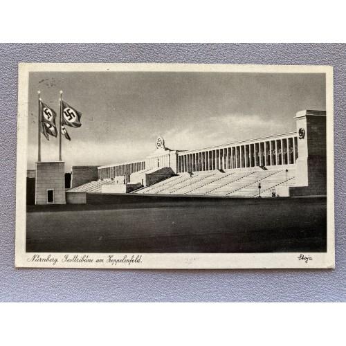 Nürnberg. Fest Tribüne am Zeppelinfeld Postcard # 7238